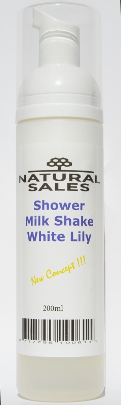 SHOWER MILK White lily